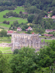 Rievaulx Abbey and Terrace: From the Terrace